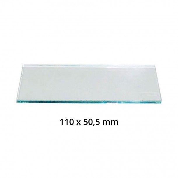 Vidro Máscara Soldar Transparente - 110x50,5 mm