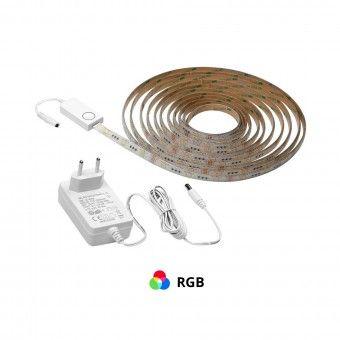 Fita LED com Comando e Conexão Wifi/Bluetooth 5M
