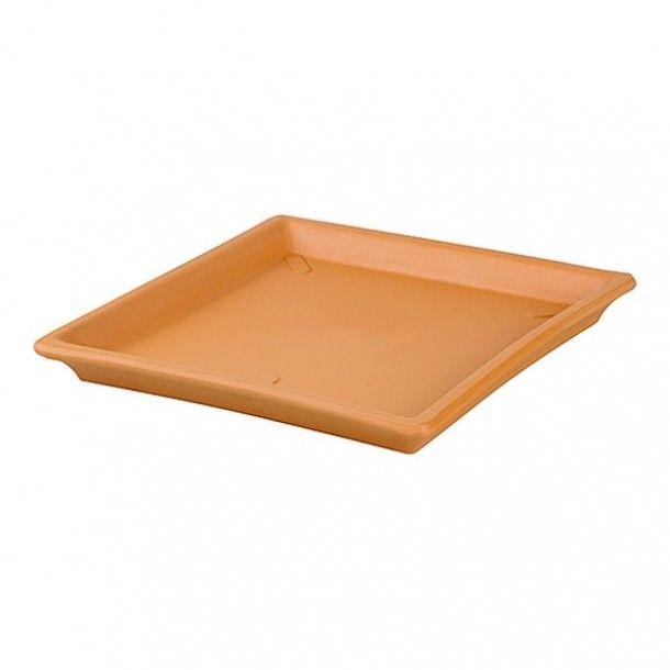 Prato para Vaso de Barro Quadrado - Nº 24