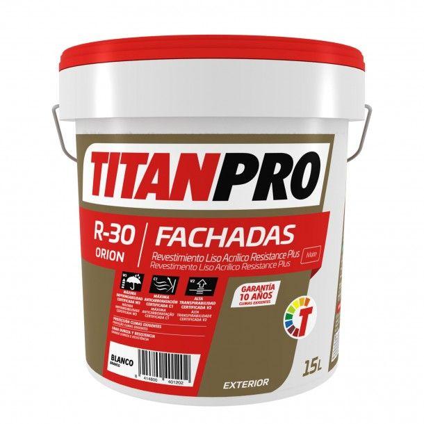 Revestimento R30 Acrílico Branco Mate 15L - Titan Pro