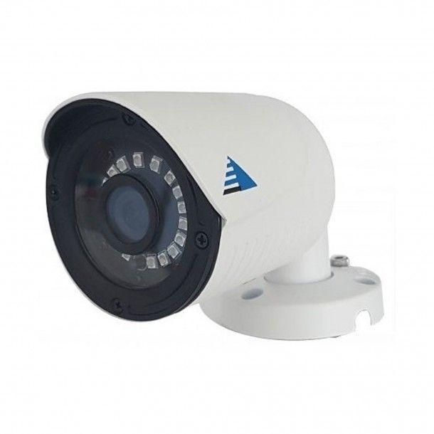 Câmara de Videovigilância HD Exterior Branca