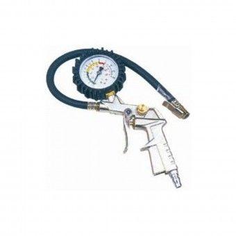 Pistola de Ar com Manómetro de Pressão
