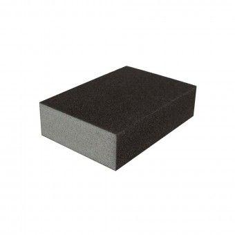 Taco de Lixa Esponja Multiuso 100x70x25mm