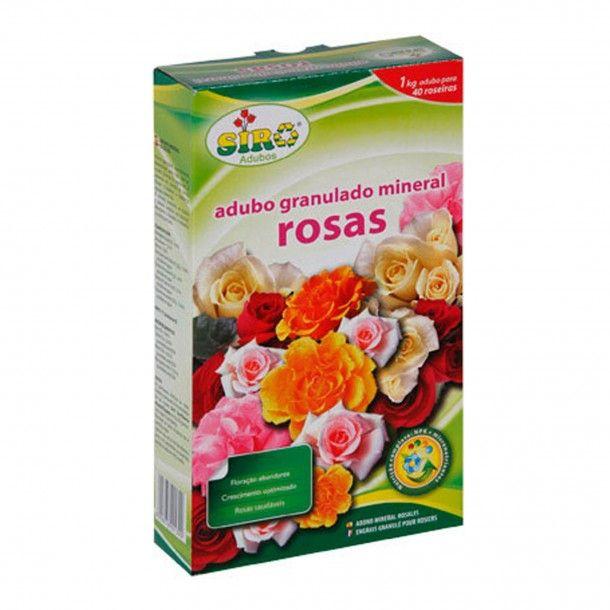 Adubo para Rosas Mineral Granulado Siro