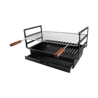 Barbecue de Encaixe Chapa 55x33 cm