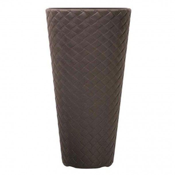 Vaso Matuba Slim Chocolate - 30 x 55 cm