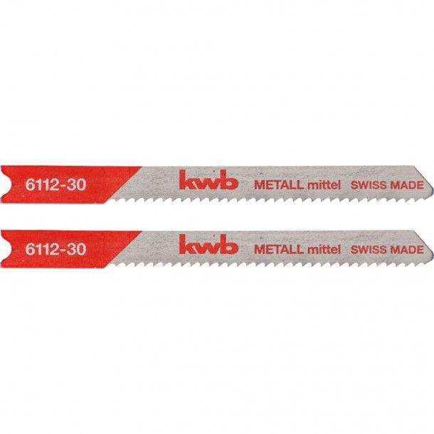 Lâmina Serra Tico-Tico (U) Metal Fino 50x75 mm Kwb
