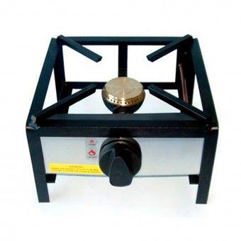 Trempe Simples Um Queimador 80 - 30x30 cm