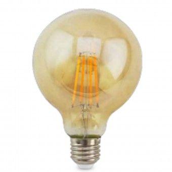 Lâmpada LED Vintage Gold Globe Ø125 E27 2500K
