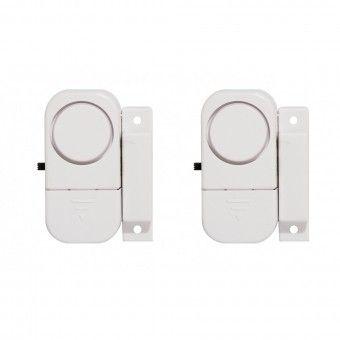 2 Mini Alarmes para Janela ou Porta a Bateria