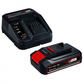 Bateria e Carregador 18V 2,5Ah Power X Change Einhell