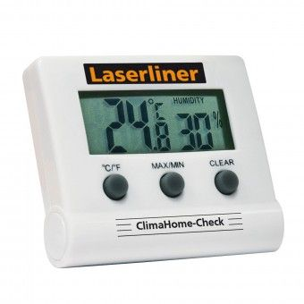 Medidor de Temperatura e Humidade Digital Laserliner