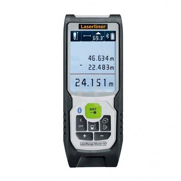 Medidor de Distância Laser Verde Bluetooth Gi7 Laserliner