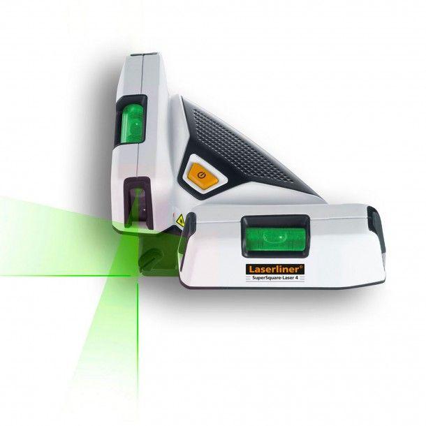 Nível Laser 4 Linhas 90º Supersquare Laserliner