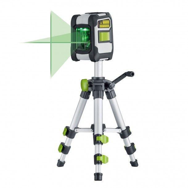 Nível Laser Cruz Verde Bluetooth com Kit Laserliner