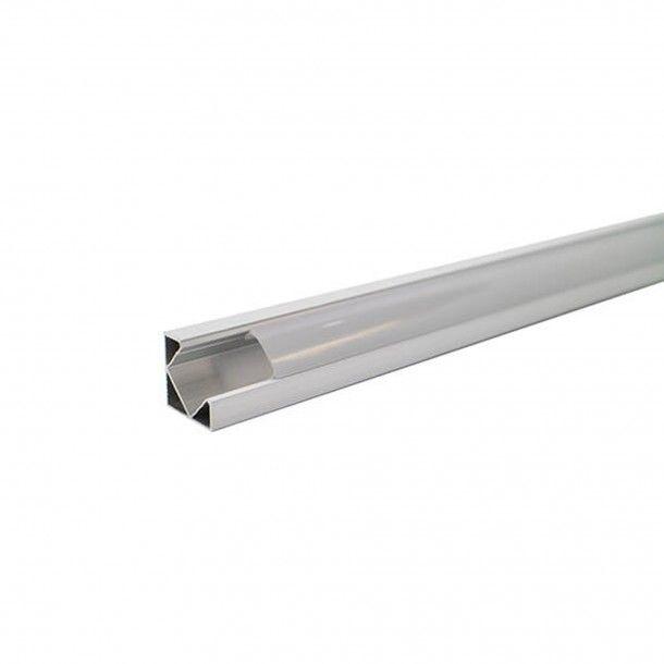 Perfil para Fita LED de Canto com Difusor 2M