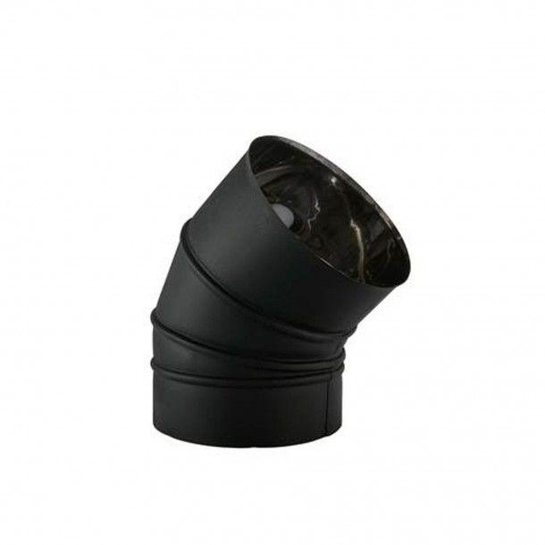 Curva Inox 45º
