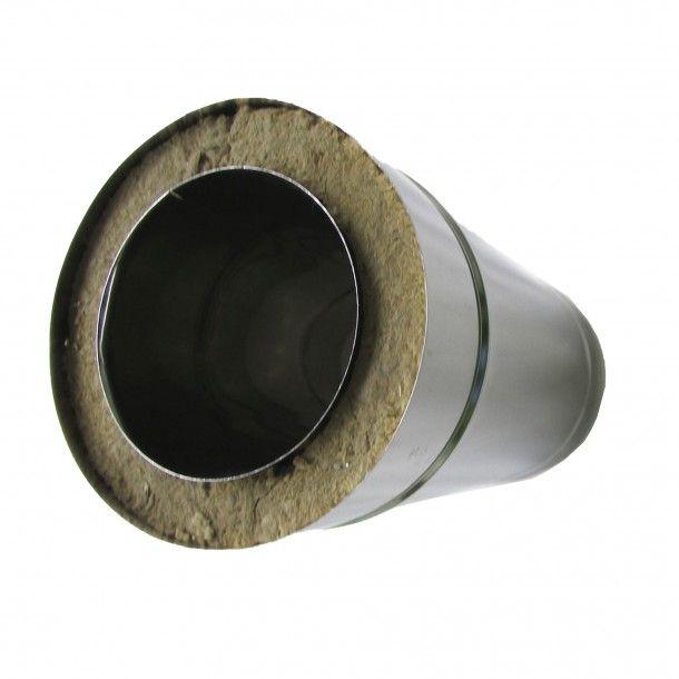 Tubo Inox Parede Dupla 1M