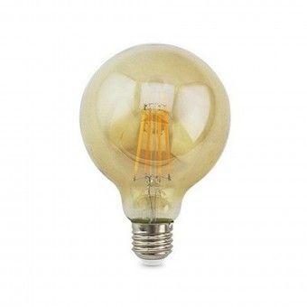 Lâmpada LED Vintage Gold Globe E27 2500K