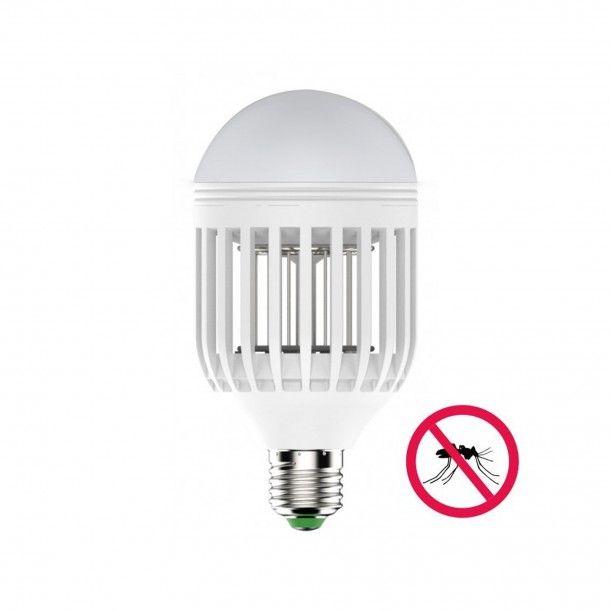 Lâmpada Mata Mosquitos LED 6500K